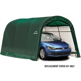 ShelterLogic Replacement Cover Kit 10x15x8 Round 21.5oz PVC Green