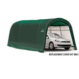 ShelterLogic Replacement Cover Kit 10x20x8 Round 21.5oz PVC Green