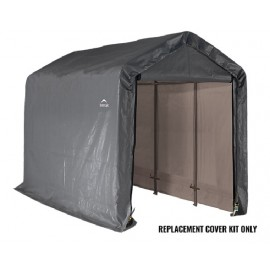 ShelterLogic Replacement Cover Kit 6x12x6.5 Peak 14.5oz PVC Grey