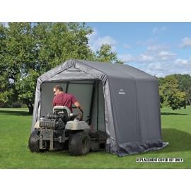 ShelterLogic Replacement Cover Kit 8x8x8 Peak 7.5oz Grey
