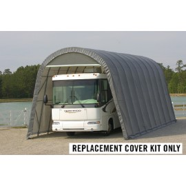 ShelterLogic Replacement Cover Kit 15x40x16 Round 14.5oz PVC Grey