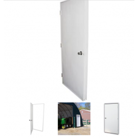 "Plyco Insulated Door - 36"" x 80"" Standard"