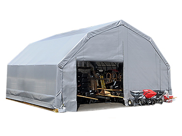Portable Garages | Temporary Carports | Shelters of America